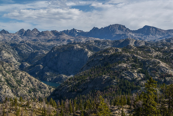 Another image from Photographer's Point. Fremont Peak looks impressive from here!